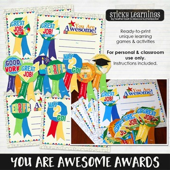You Are Awesome Awards