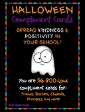 You Are Fab-BOO-Lous! - Halloween Compliment Cards