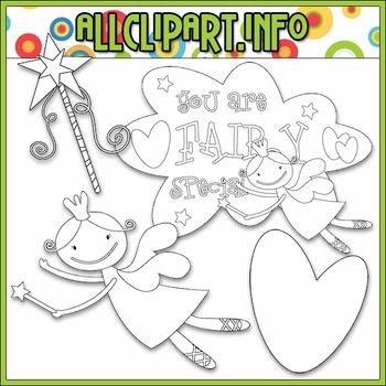 BUNDLED SET - You Are Fairy Special Clip Art & Digital Stamp Bundle