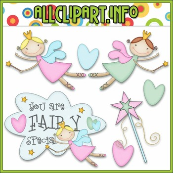 BUNDLED SET - You Are Fairy Special Clip Art & Digital Sta