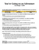 You Are Going To Disney World Math Task