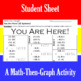 You Are Here! - 15 Linear Systems & Coordinate Graphing Activity