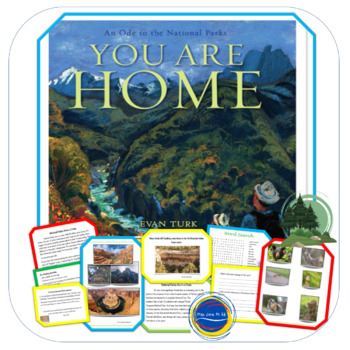 """""""You Are Home: An Ode to the National Parks"""" - by Evan Turk - Lesson Plan"""