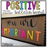 You Are Important Bulletin Board [Positive Bulletin Board]