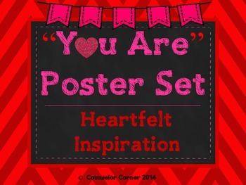 """You Are"" (Inspiration From The Heart) Poster Set"