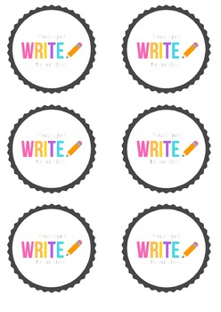 You Are Just 'Write' For Our Class