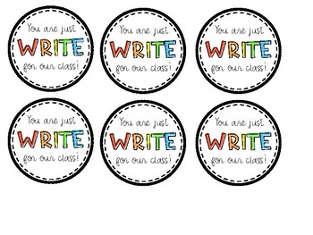 You Are Just Write Printable