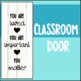 Back to School You Are Loved Classroom Wall Quote