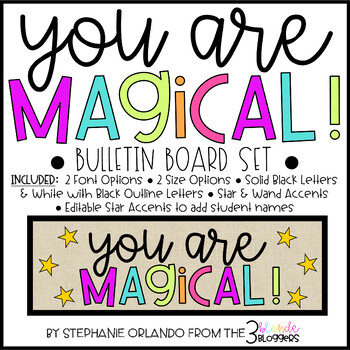 You Are Magical Bulletin Board Set