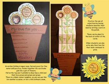 """Mother's Day Crafts: """"You Are My Sunshine"""" Mother's Day Writing Prompts"""
