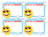 You Are My Sunshine! Note Cards / Valentine's Day Cards