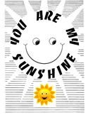 You Are My Sunshine Unit, Sun Activities and Worksheets