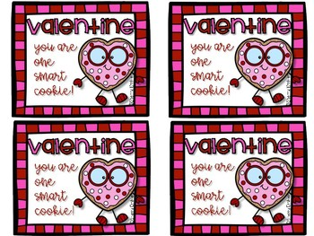 You Are One Smart Cookie Valentine!