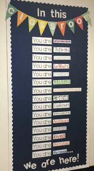 You Are The Reason - Bulletin Board
