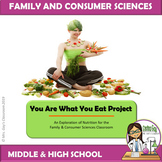 You Are What You Eat Nutrition Project FACS FCS