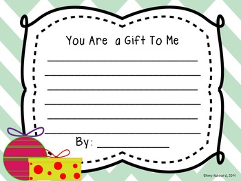 You Are a Gift- A Christmas Writing
