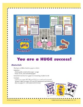 You Are a HUGE Success! (Bulletin Board)