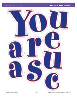 You Are a HUGE Success! (Bulletin Board)