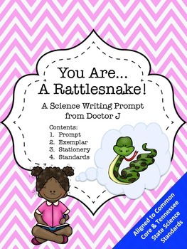 You Are a Rattlesnake 4th Grade Common Core Science Food Web Writing Prompt