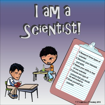 You Are a Scientist! End of Year (or begining) Research Project