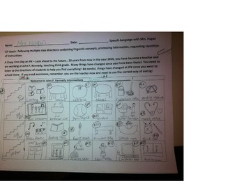 You Are the Teacher - A Following Directions Activity