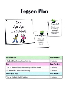 You As An Individual Lesson