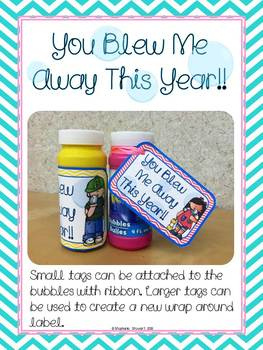 image about You Blew Me Away This Year Free Printable titled Blew Me Absent Reward Tag Worksheets Instruction Products TpT