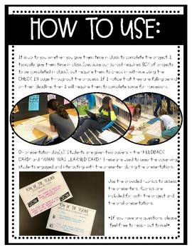 You Be The Teacher - Independent Research Project