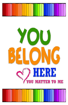 You Belong Here Poster