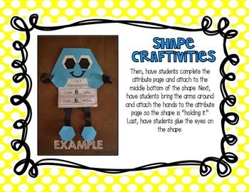 2-D Shape Crafts
