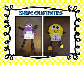 2-D Shape Crafts