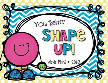 You Better Shape Up!
