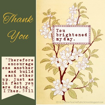 You Brightened My Day Free eCard Encouragement for Teachers Thank You