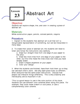 You Can Be a Great Art Teacher!  Lesson 23