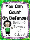 You Can Count On Defense! Counting Towers of Cubes 1-30