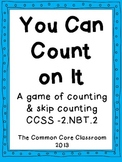 You Can Count On It -counting & skip counting math center game 2.NBT.2