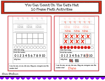 You Can Count On The Cat's Hat: Math Activities With A 10 Frame
