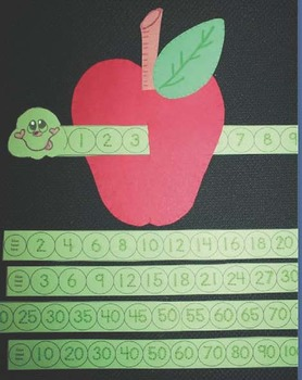 """Free Apple Craft: """"You Can Count On Willie!"""" A Wormy Apple Math Craftivity"""
