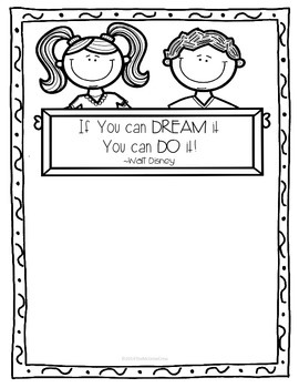 You Can Do It! Lined Paper FREEBIE!