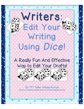Writers, Edit Your Writing Using Dice!