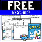 Cereal Box Activities Freebie | Distance Learning
