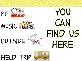You Can Find Us Snoopy