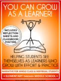 Growth Mindset Individual/Classroom Narrative & Lesson
