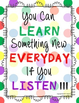 You Can Learn Something New Everyday Poster
