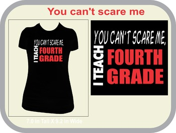You Can't Scare Me ....