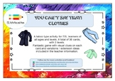 You Can't say that! A fun taboo type speaking activity - CLOTHES