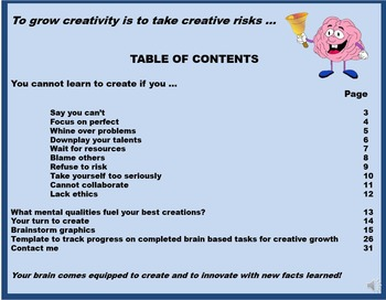 You Cannot Learn to Create If You ...