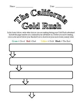 You Choose California Gold Rush