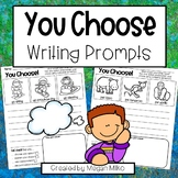 You Choose writing prompts