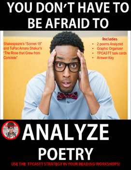 You Don't Have to be Afraid to Analyze Poetry: Use TPCASTT with Shakespeare